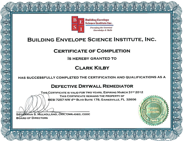 Chinese Drywall Inspection - Chinese Drywall Testing - Chinese Drywall Remediation